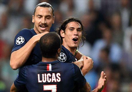 Live: Ajax 0-1 Paris Saint-Germain