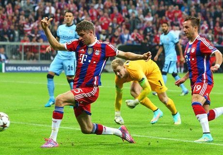 AO VIVO: Bayern 0 x 0 Man. City