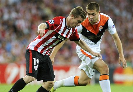 LIVE: Athletic Bilbao 0-0 Shakhtar