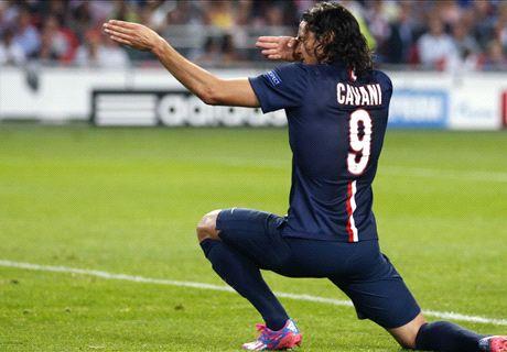 Cavani goal not enough for PSG