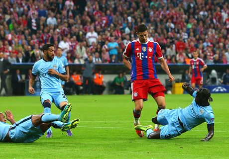 LIVE: Bayern Munich 0-0 Man City