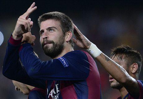 Pique winner saves unconvincing Barca