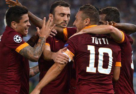 La Roma puissance cinq