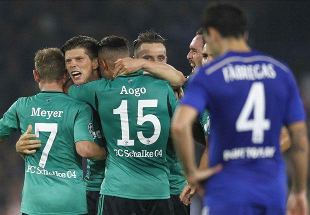 Chelsea 1-1 Schalke: Fabregas strike not enough for below-par Blues