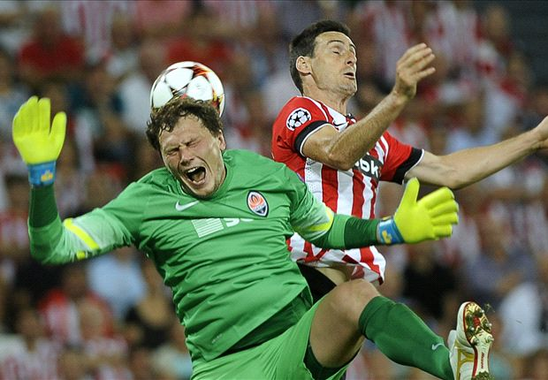 Athletic Bilbao 0-0 Shakhtar Donetsk: Basques settle for point in Champions League return