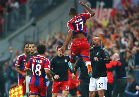 Late Boateng strike sinks Man City