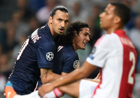 Cavani: No problems with Ibra