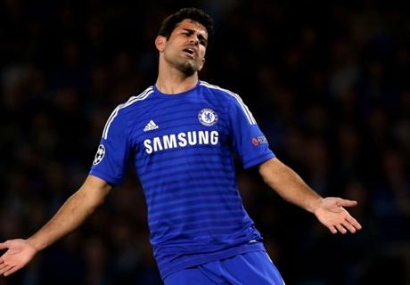 Diego Costa é suspenso por três jogos