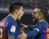 WATCH: Jordi Alba flies in on Suarez