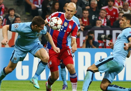 Robben: The only way is up for Bayern