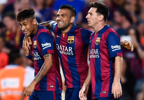 Alves: Barca heading back to the top