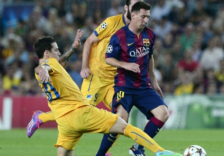 Pique: Messi did all the hard work