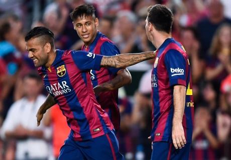 Opstellingen: Levante - Barcelona