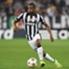 Juventus defender Patrice Evra