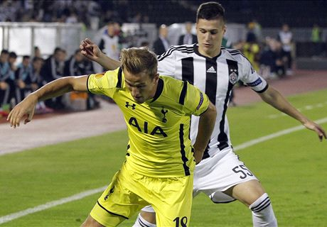 Sad Spurs held by Partizan