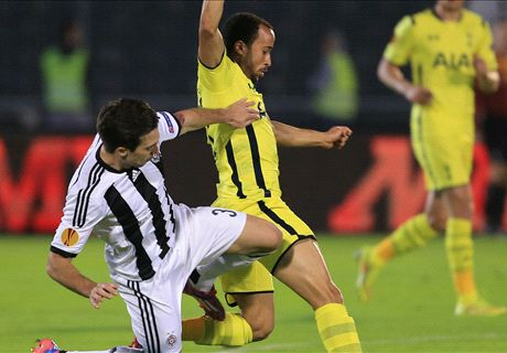 Partizan 0-0 Tottenham: Spurs held