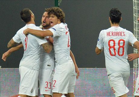 Inter pegó primero