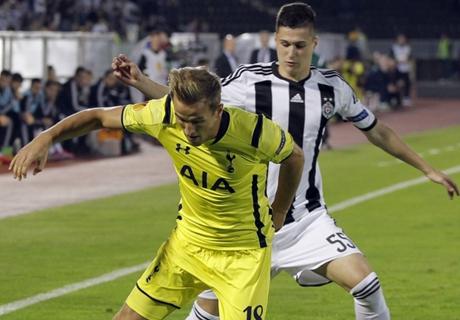 Player Ratings: Partizan 0-0 Tottenham