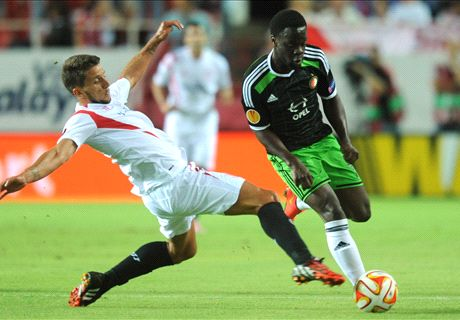 Sevilla back in the Europa League groove