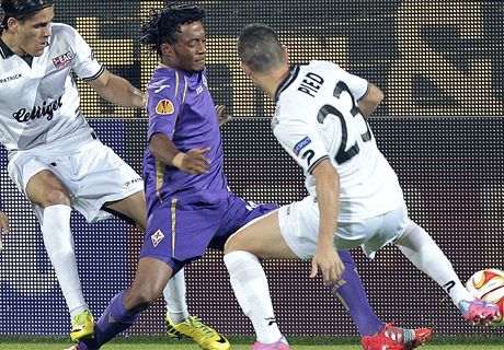 Cuadrado on target as Fiorentina cruise