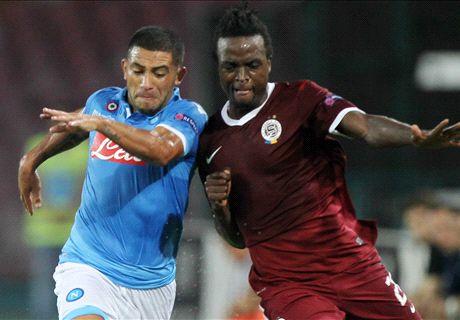 Mertens double completes Napoli comeback