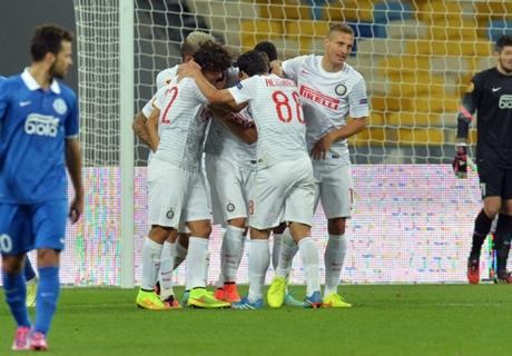 UEL: Dnipro 0-1 Inter