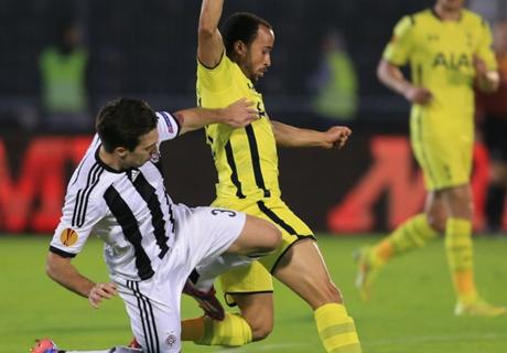 UEL: Partizan 0-0 Tottenham