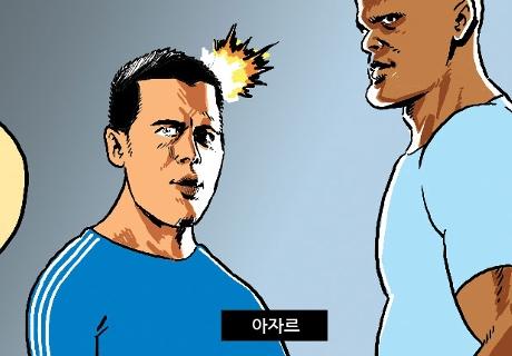 [웹툰] EPL의 챔스 부진