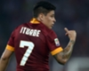 Roma, Iturbe out deux semaines