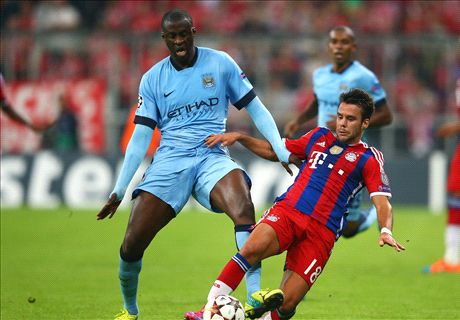 Yaya a 'major problem' in CL - Scholes