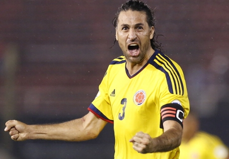 Yepes se entrenó con San Lorenzo