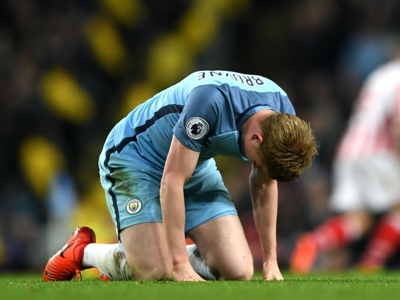 Does De Bruyne sum up Man City's biggest problem?