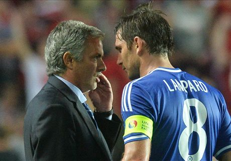 Mourinho: Lampard could succeed me