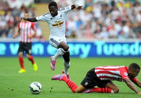 Live: Swansea 0-0 Southampton