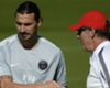 Ibrahimovic not fit to face Lorient, confirms Blanc