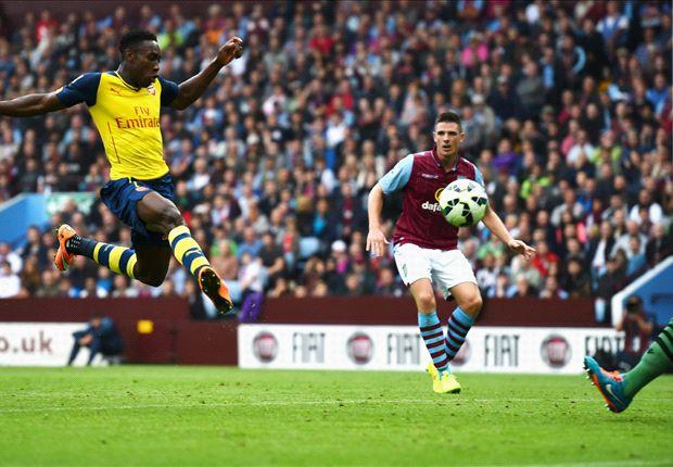 Aston Villa 0-3 Arsenal: Mesut Özil comanda a los gunners en Villa Park