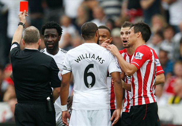 Swansea 0-1 Southampton: Wanyama wins it after Bony red