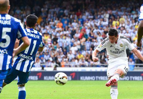 El Madrid dio cátedra en Riazor