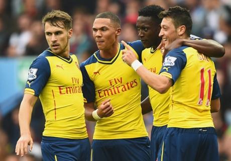 Inglês: Aston Villa 0 x 3 Arsenal