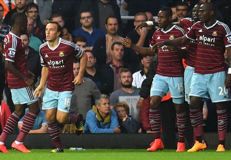 Premier League: West Ham 3-1 Liverpool