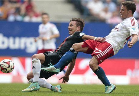 Bayern draw blank in Hamburg