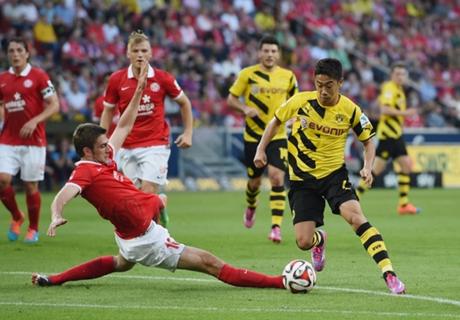 Mainz 2-0 Dortmund: Awful return