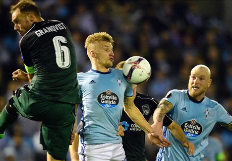 Guidetti key in build-up play for Celta Vigo