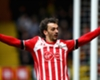 Southampton striker Manolo Gabbiadini celebrates a Premier League goal against Watford