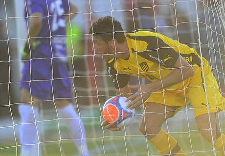 Uruguay: El Tanque 1-1 Peñarol