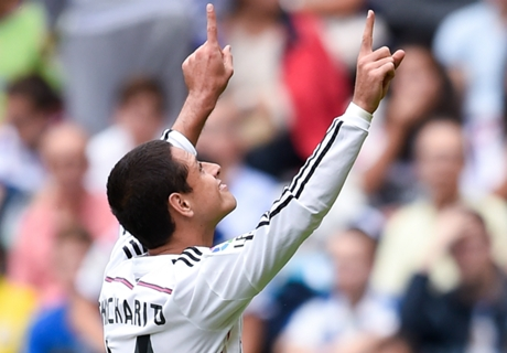 Chicharito scores in Madrid win