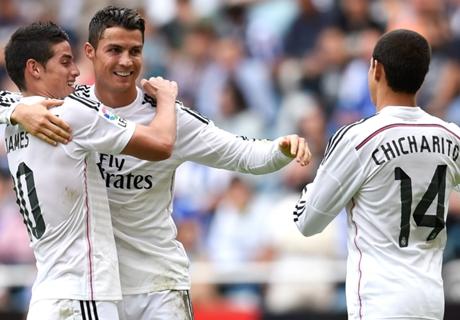 Real Madrid cuida algunas piezas