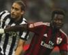 Juventus, élongation de la cuisse pour Caceres