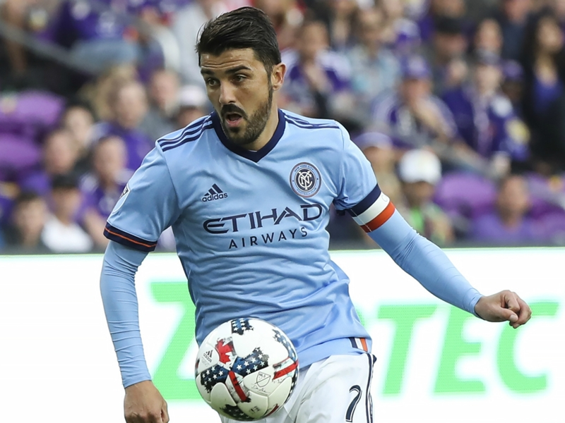 WATCH: David Villa converts header for third consecutive home opener goal