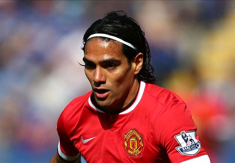 Falcao returns to Man Utd training